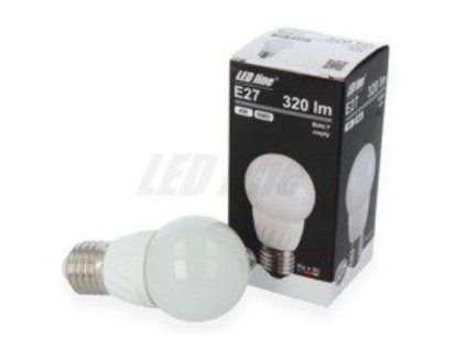 Ledin LED žárovka 4W 320lm E27 Teplá