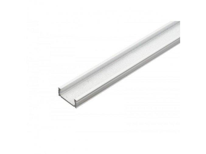 Hliníkový profil MiniLUX BÍLÝ 1m pro LED pásky, ALU lišta