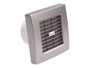 Kanlux 70974 TWISTER AOL 100T SF - Stříbrný ventilátor standart s časovačem a autom. žal.