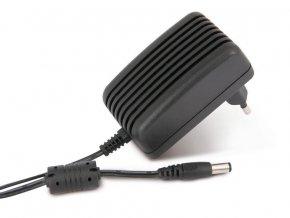 PremiumLED Stabilizovaný síťový zdroj 12W 1A 12V DC, 2,5/5,5 černý