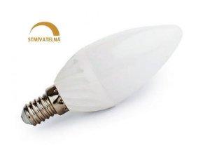 Ledspace LED žárovka 8W 14xSMD2835 E14 750lm Studená Stmívatelná