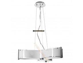 Lampada Designe Stropní závěsné světlo MARGHERITA 350x1500mm 3xE27 sklo, kov