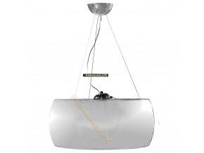 Lampada Designe Stropní závěsné svítidlo LIDIA 500x1500mm 3xE27 chromované sklo, kov