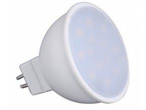 Ledlux LED žárovka 7W 18xSMD2835 GU5.3 12V 710lm Studená