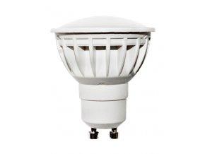 Berge LED žárovka 5W 12xSMD2835 GU10 450lm CCD Teplá