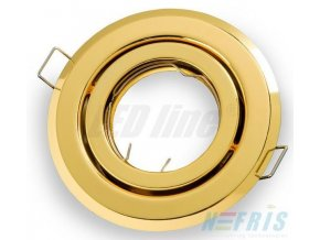PremiumLED Podhledové bodové svítidlo BETA zlatá + patice, LUX01223