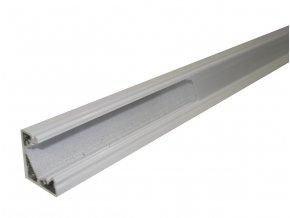 Hliníkový profil MiniLUX  30/60° 1m pro LED pásky, bílý