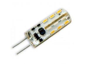 Ledom LED žárovka 2W 24xSMD3014 G4 220lm CCD Teplá Silikon