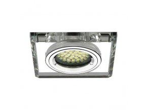 Ledspace Podhledové bodové svítidlo JANTAR stříbrný + patice