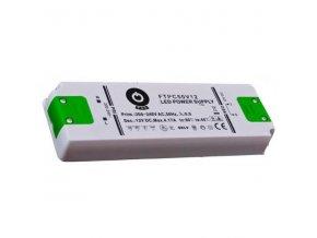 Nábytkový LED napájecí zdroj FTPC50V12 50W 4,17A 12V
