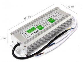Napájecí zdroj 200W 16,7A 12V DC, voděodolný / venkovní