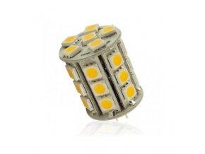 Interlook LED žárovka 5,4W 27xSMD5050 G4 450lm 12V DC Studená
