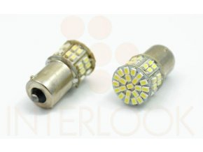 Interlook LED auto žárovka BA15S 50 SMD 1206 P21W
