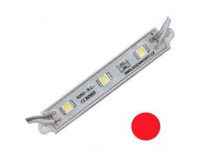 PremiumLED LED Modul 3xSMD 5050 0,72W 60lm 12V Červená