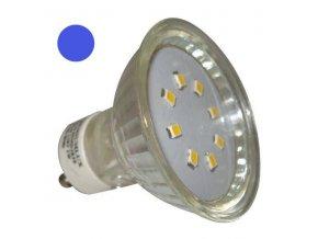 PremiumLED LED žárovka 1W 20xSMD2835 GU10 90lm Modrá