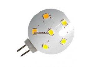 PremiumLED LED žárovka 1W 6x2835 G4 100lm Teplá