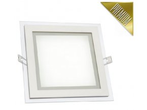 Spectrum LED panel FIALE vestavný 12W 600lm 160x160mm 230V CCD Studená