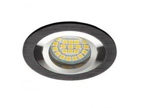 PremiumLED LUX01289 podhledové bodové svítidlo Opal Alu černá + patice