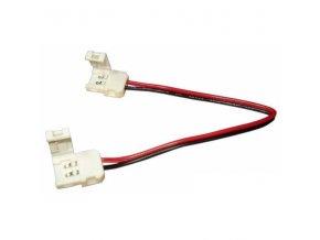 Spojka CLICK pro LED pásky o šířce 8mm s vodičem