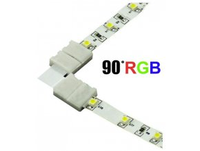 Spojka rohová KLIK pro RGB LED pásky