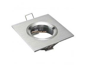 PremiumLED Podhledové bodové svítidlo SAFÍR stříbrný + patice, LUX01249