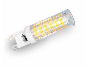 Ledin LED žárovka 6W 72xSMD2835 G9 550lm Studená