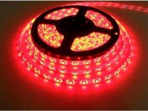 PremiumLED LED pásek Červený 5m 60xSMD3528 4.8W/m