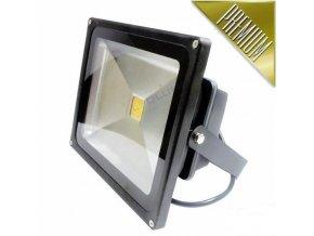 Ledlumen LED reflektor 50W COB EPISTAR 3750lm, TEPLÁ