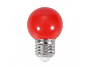 oobest 220v e27 0 5w led mini ball light bulb red energy saving party globe lamp[1][1]