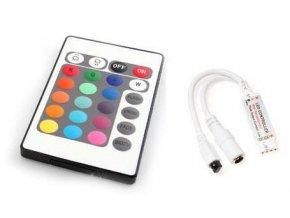 Berge RGB kontroler s ovladačem pro LED pásky 72W 24 tlačítek