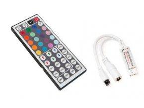 Berge RGB kontroler s ovladačem pro LED pásky 72W 44 tlačítek