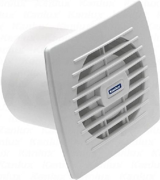 Kanlux 70915 CYKLON EOL120 - Ventilátor s tahovým vypínačem a vidlicí