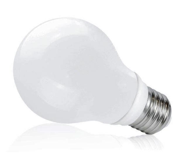 Ledlumen LED žárovka 6W 24xSMD2835 E27 560lm CCD Teplá