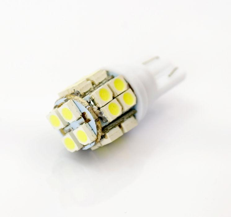 Interlook LED auto žárovka LED W5W T10 20 SMD 1210