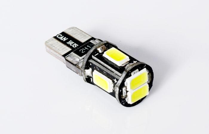 Interlook LED auto žárovka LED W5W T10 6 SMD 5630 CAN BUS