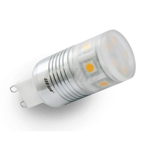 Led line LED žárovka 2,2W 11xSMD G9 160lm 23mm Teplá
