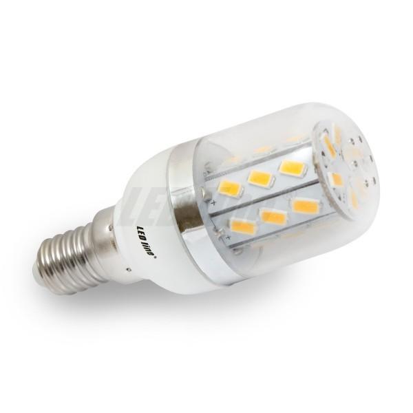Led line LED žárovka 5W 27xSMD5630 E14 350lm CCD, TEPLÁ
