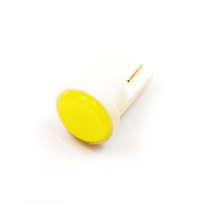 Interlook LED auto žárovka LED W5W T10 1W COB LED, bílá