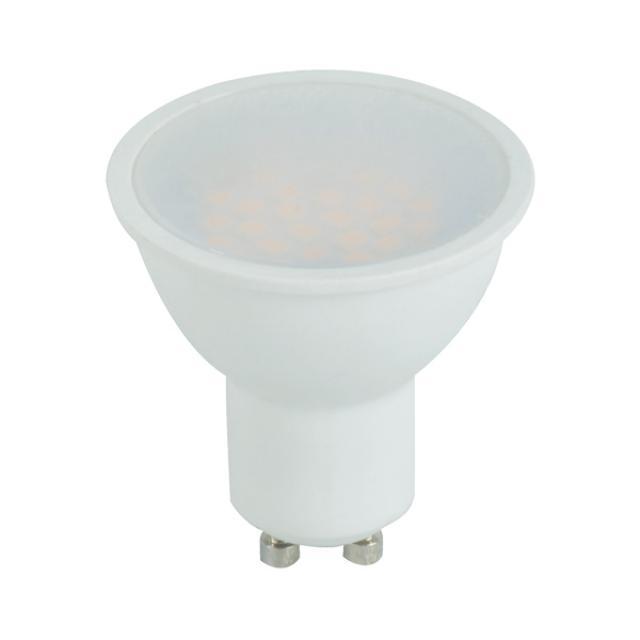 Berge LED žárovka 5W 12xSMD2835 GU10 450lm CCD Studená