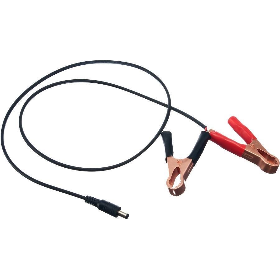 PremiumLED Konektor napájecí DC 2,1/5,5mm (samec) s klešťovými úchytkami