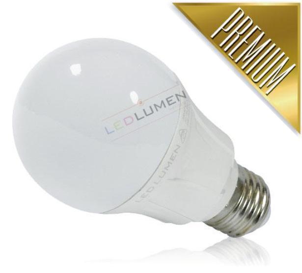 Ledlumen LED žárovka 12W 16xSMD2835 E27 1220lm CCD Teplá