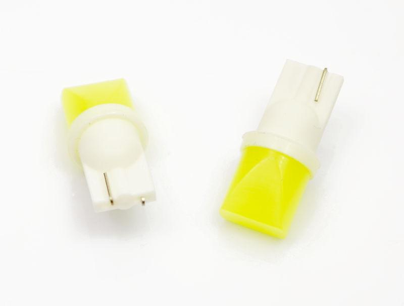 Interlook LED auto žárovka LED W5W T10 1W COB LED kužel, bílá