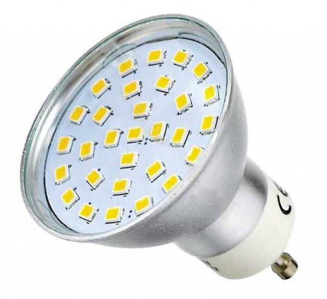 Ledlux LED žárovka 6W 30xSMD2835 GU10 500lm Teplá