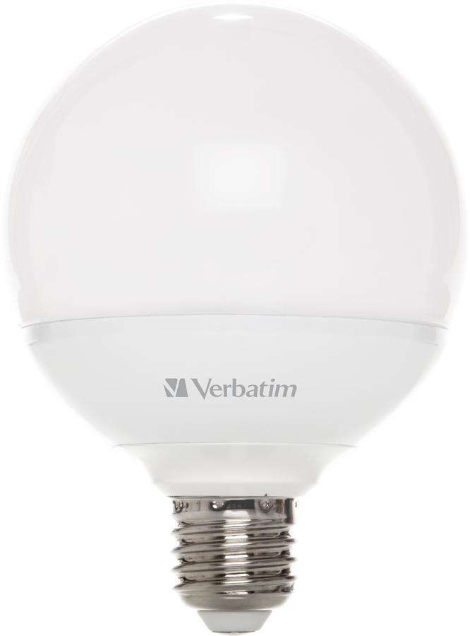 VERBATIM LED GLOBE E27 10W 2700K 810lm DIM