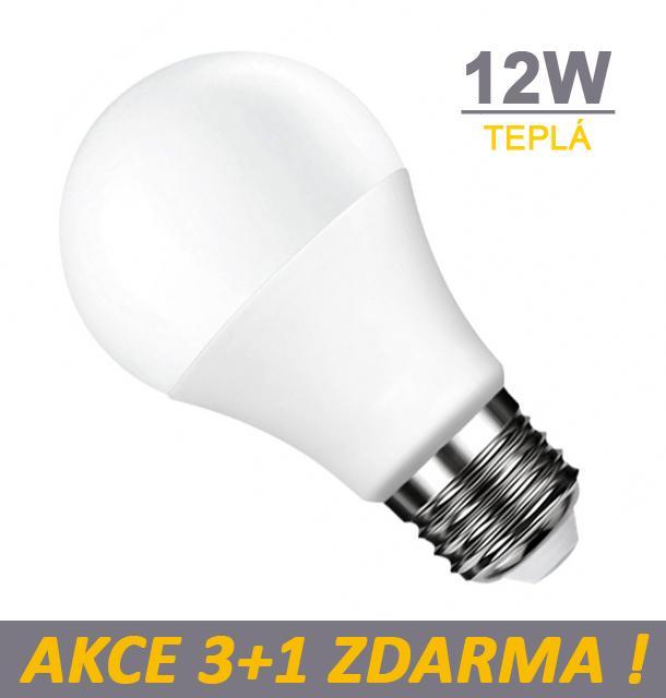 Ledom LED žárovka 12W 24xSMD2835 1212lm E27 Teplá
