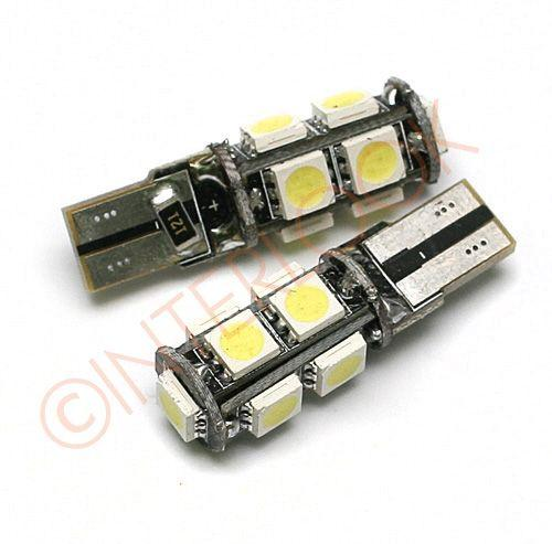 Interlook LED auto žárovka T10 9 SMD 5050 W5W CAN BUS