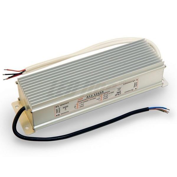 Napájecí zdroj MPL 150W 12.5A 12V DC, voděodolný / venkovní