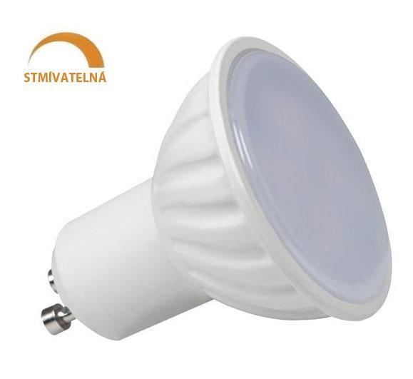 Ledspace LED žárovka 8W 14xSMD2835 GU10 750lm Neutrální Stmívatelná
