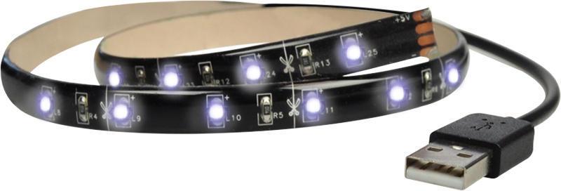 Solight LED pásek pro TV 1x 100cm USB + vypínač