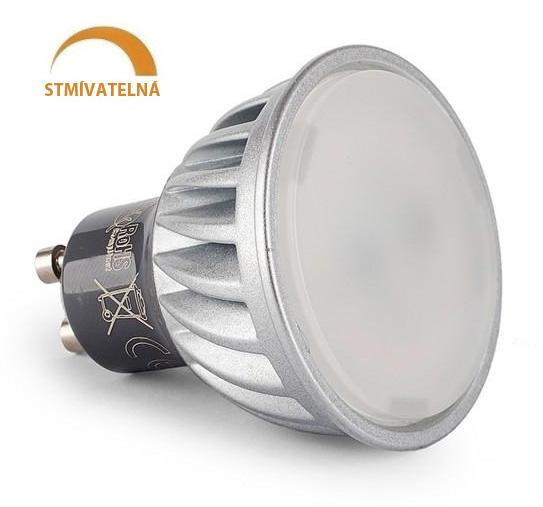 Ledspace LED žárovka 10W SMD2835 GU10 860lm Neutrální Stmívatelná